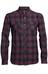 Icebreaker Lodge LS Shirt Men Flannel redwood/stealth/black